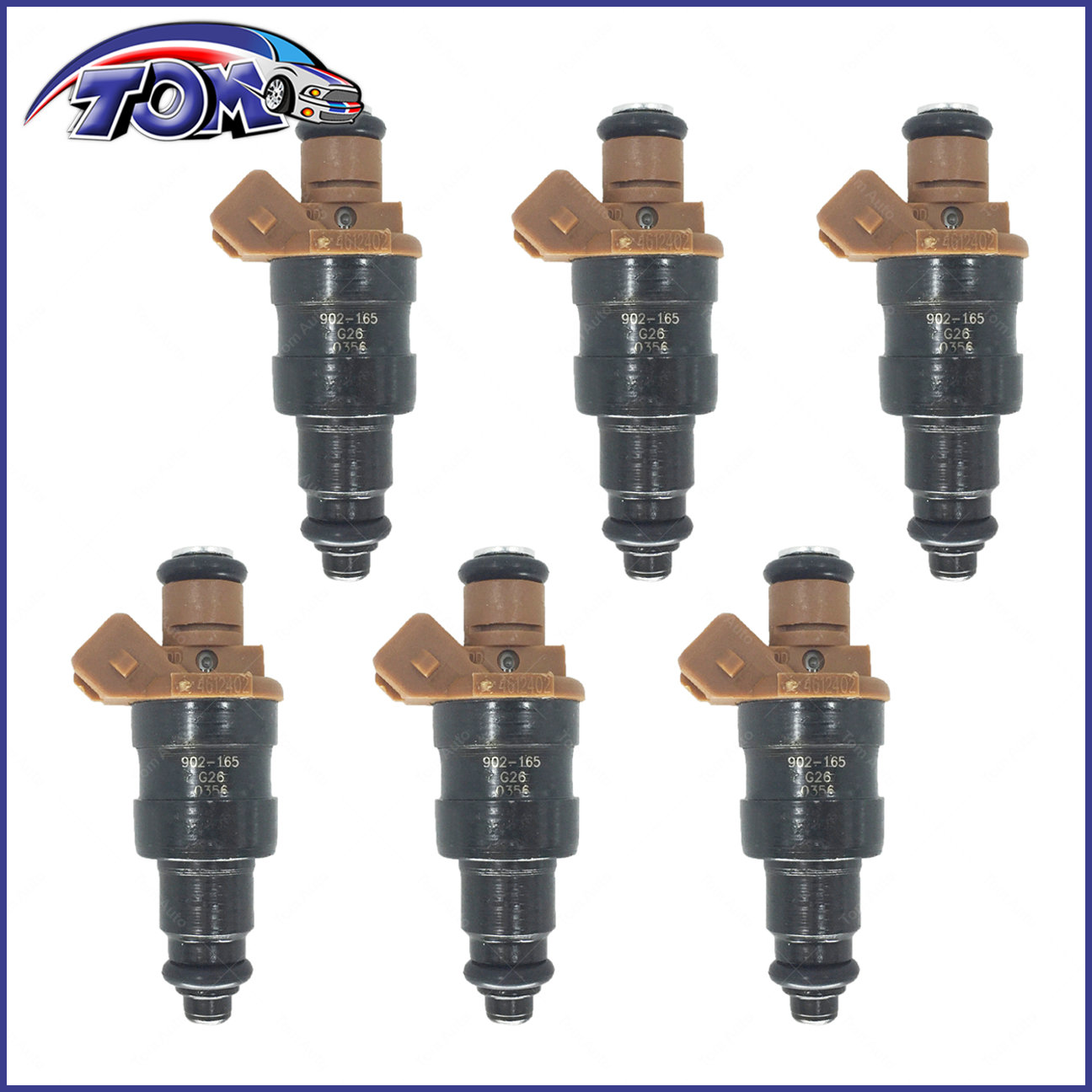 BRAND NEW FUEL INJECTOR FOR CHRYSLER DODGE PLYMOUTH 3.3L 3.8L 94-00 4612402