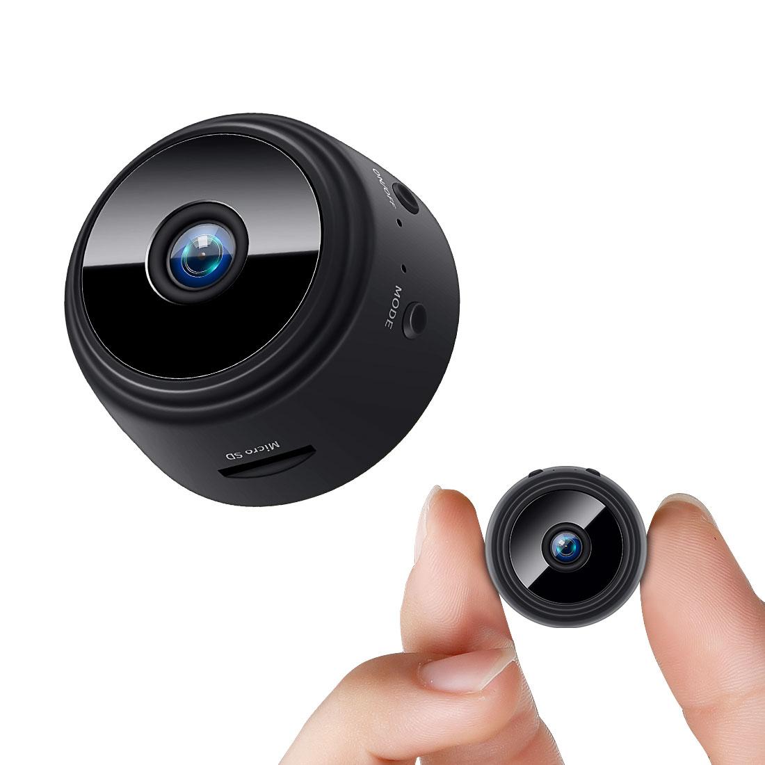 Fredi Hd Mini Camera 1080p Ip Spy Wifi Wireless Hidden