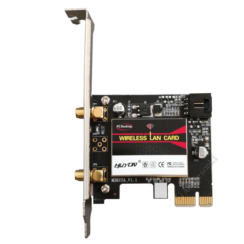 Intel 7265 2 4ghz 5ghz 802 11ac Wifi Amp Bt 4 0 Desktop