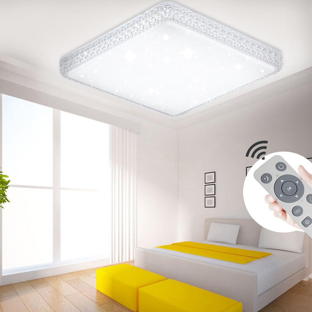 Led sterne deckenleuchte kristall deckenlampe dimmbar for Deckenlampe schlafzimmer