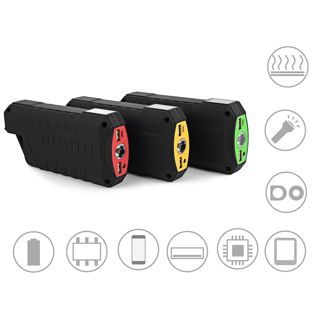 18000mah auto notfall starthilfe batterie booster power bank mit led licht ebay. Black Bedroom Furniture Sets. Home Design Ideas