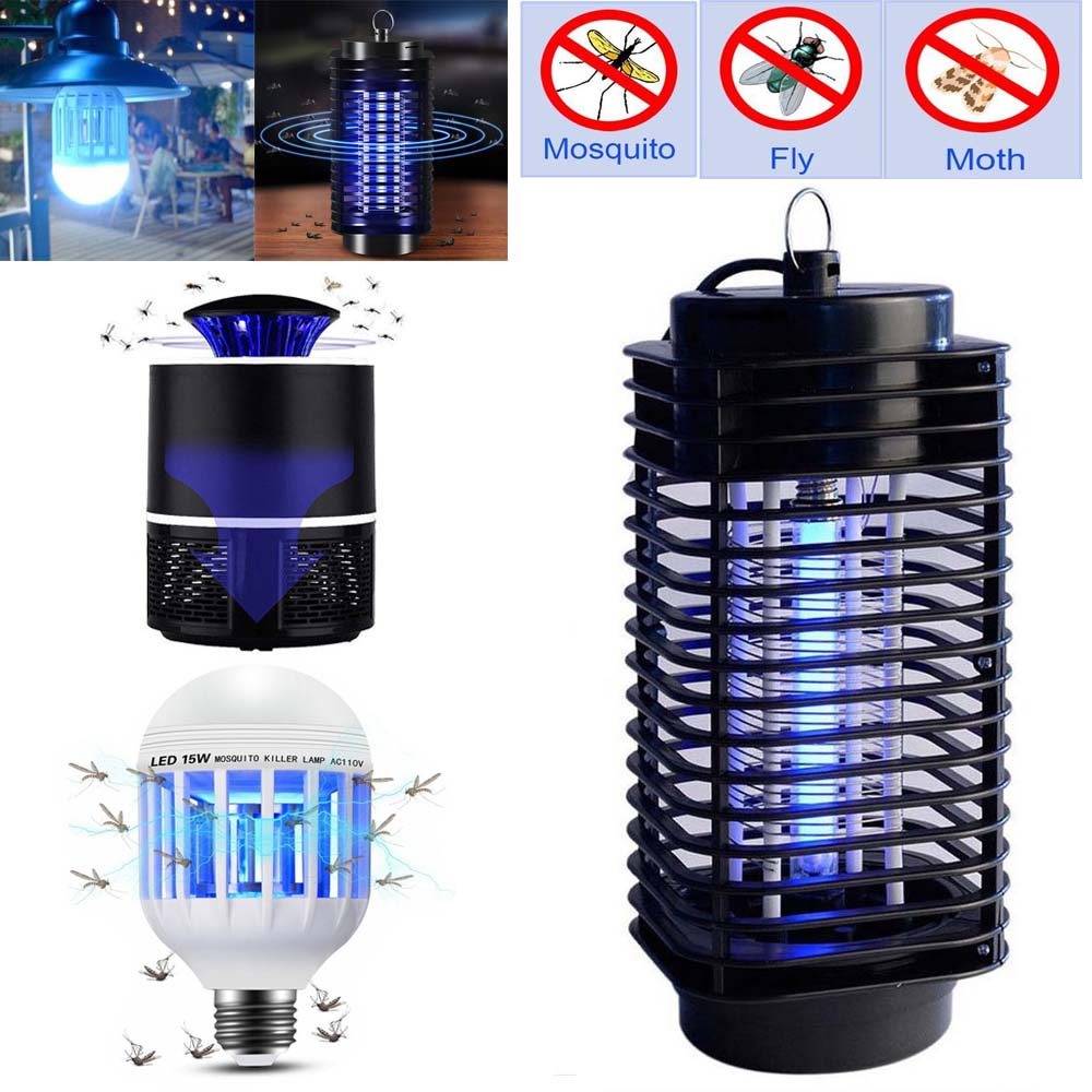 Electric Fly Mosquito Killer Lamp Insect Electronic Bug Zapper Fly Catcher