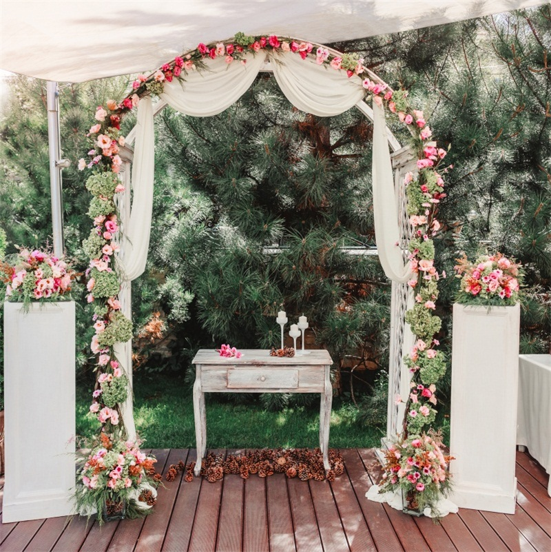 Details About Wedding Floral Arch Door Scene Photography Background 10x10ft Studio Backdrop