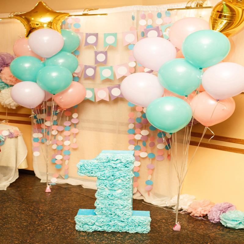 Details About Baby 1st Birthday Background Studio Photo Prop Seamless 10x10ft Backdrop Balloon
