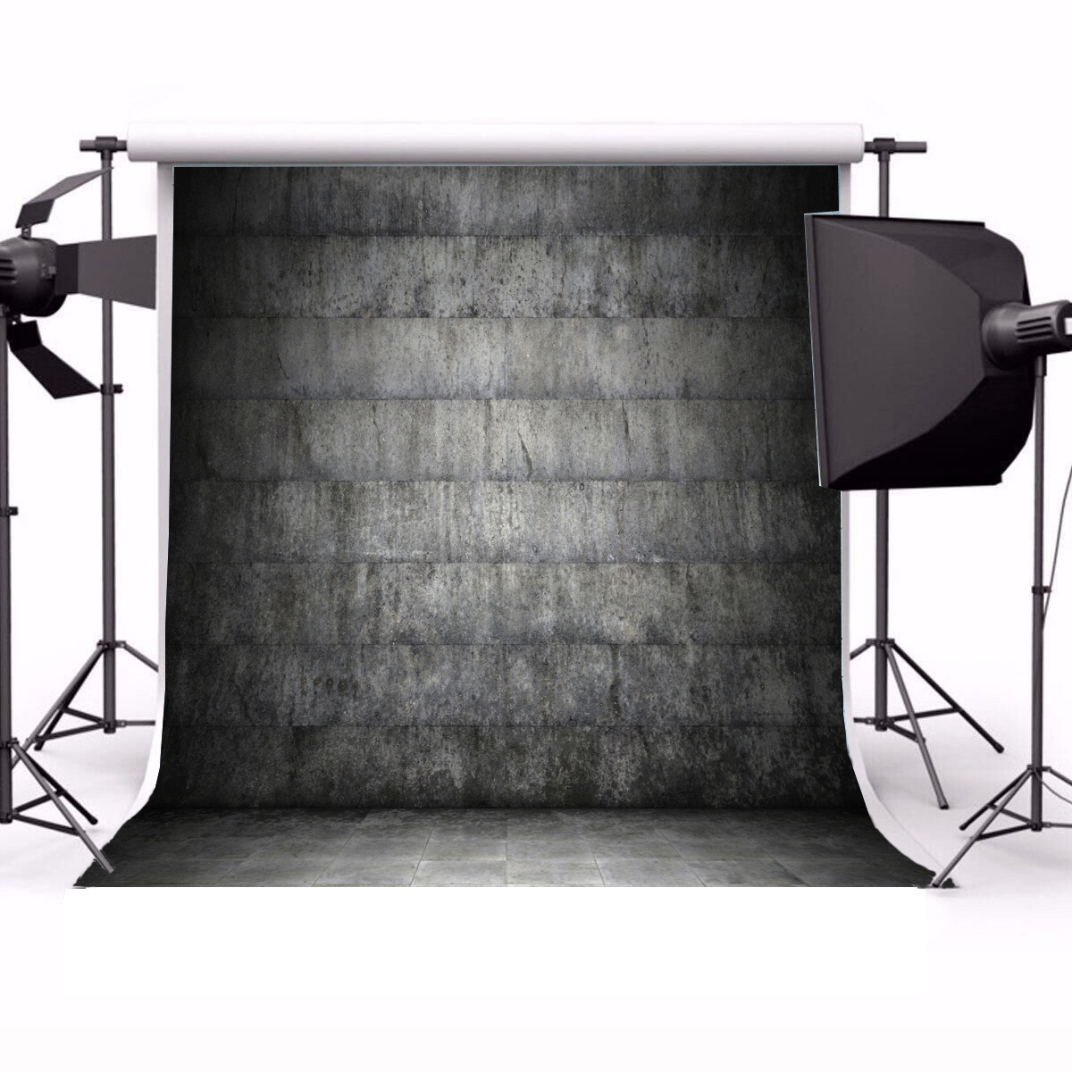 Rock Wall Photography Backdrops for Studio 8x8ft Polyester Studio Backdrop Customized Photography Backdrop Stone Wall Backdrop Grunge Antique Ingredient Rough Wall Retro Architecture