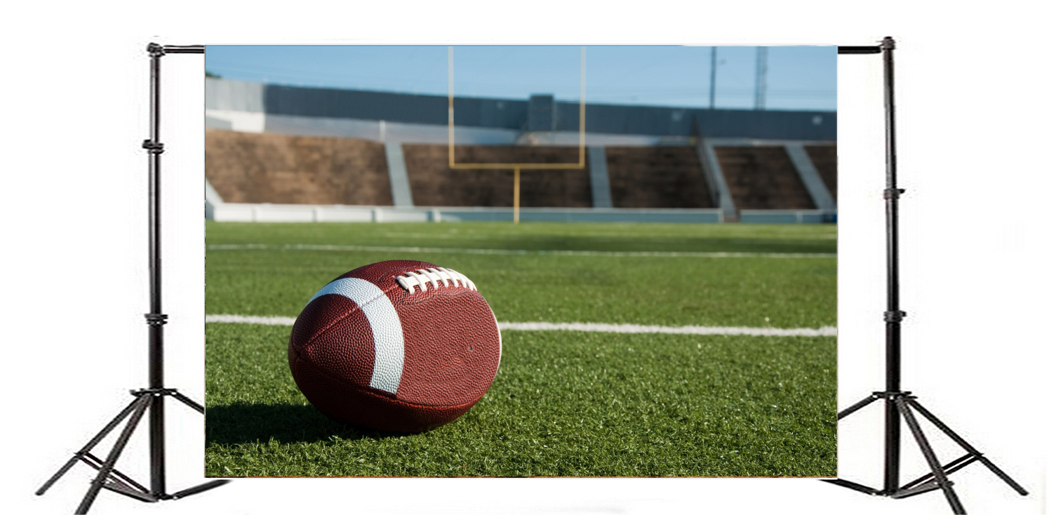 3x3 5m Football Field Poster Photography Backdrops