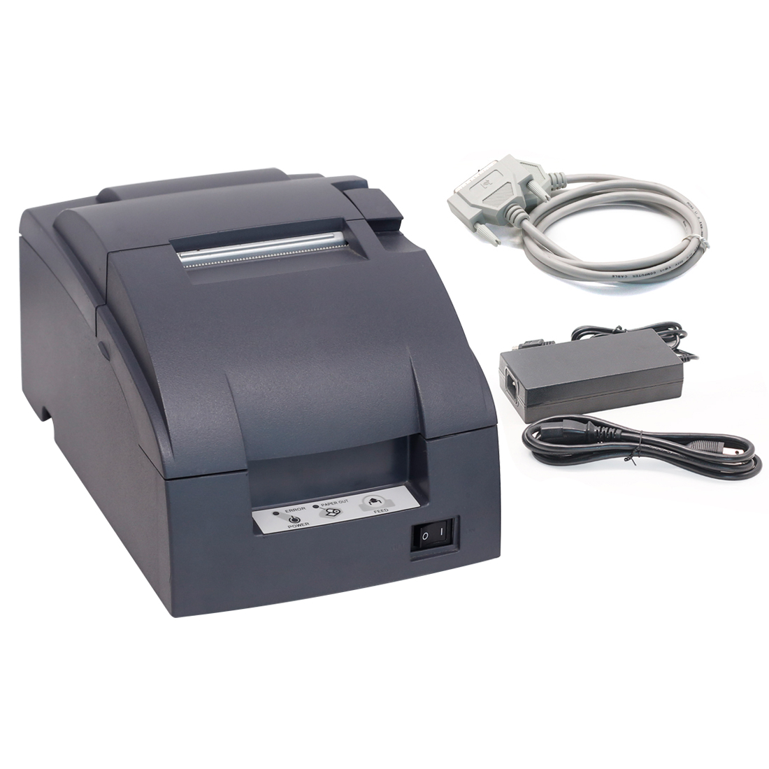 WARRANTY GOOD WORKING CONDITION Epson TM-T88II Serial POS REFURBISHED Printer