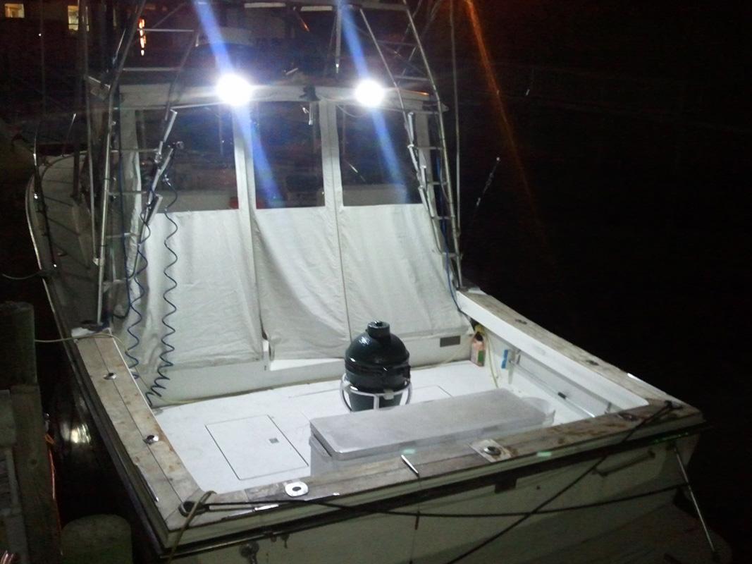 1PC  Marine Spreader light LED Deck//Mast light for boat 18W 12v-30v DC