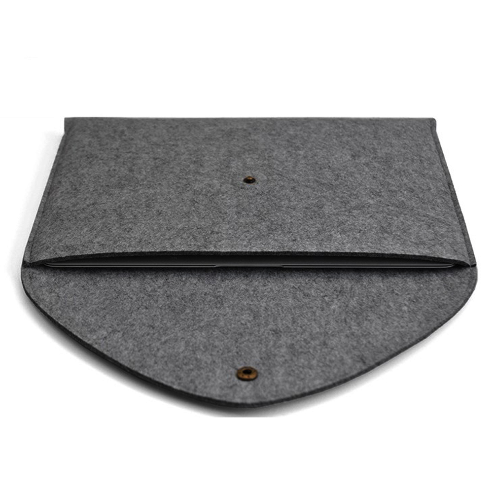 Wool Felt Envelope Sleeve Bag Case For Macbook Thinkpad Asus Dell Woolen Laptop Softcase Air Pro Retina Ipad Mini Up To 13 Inch Lenovo
