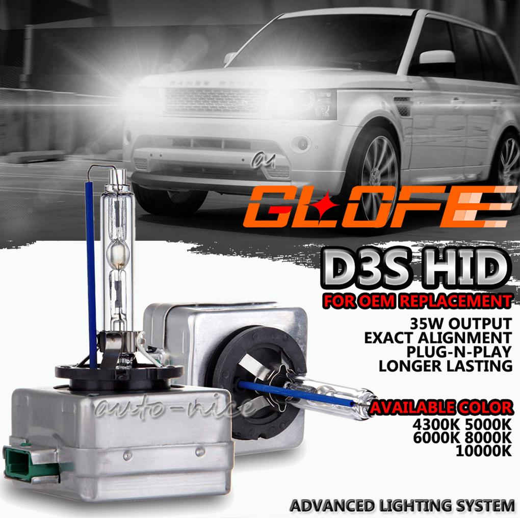 4300K Car Rover D3S Xenon Headlight Bulb HID Light 12V 35W