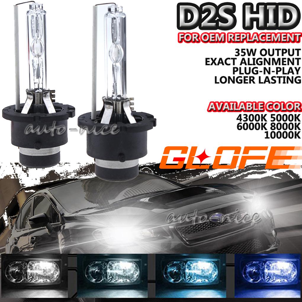 35W D4S Xenon HID Headlight High Low Beam Light Bulb For Mazda 43K 5K 6K 8K 10K