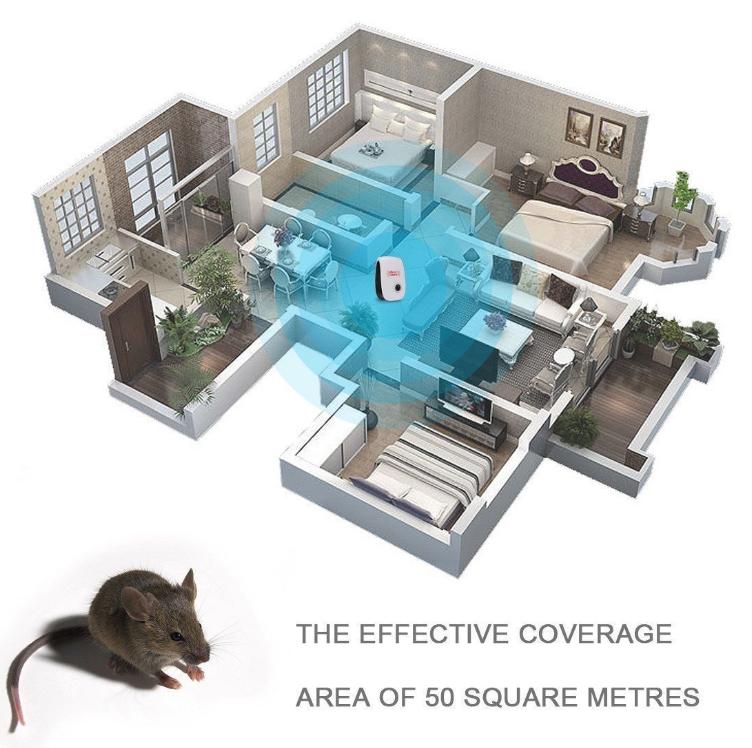 4 stk ultraschall sch dlingsbek mpfer schutz gegen m use. Black Bedroom Furniture Sets. Home Design Ideas
