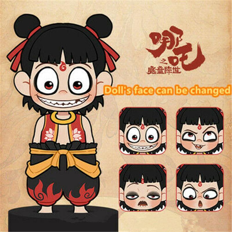 NE ZHA Nezha 哪吒 Aobing Ao Bing 敖丙 Plush 10cm Doll Keychain Toy Anime Sa