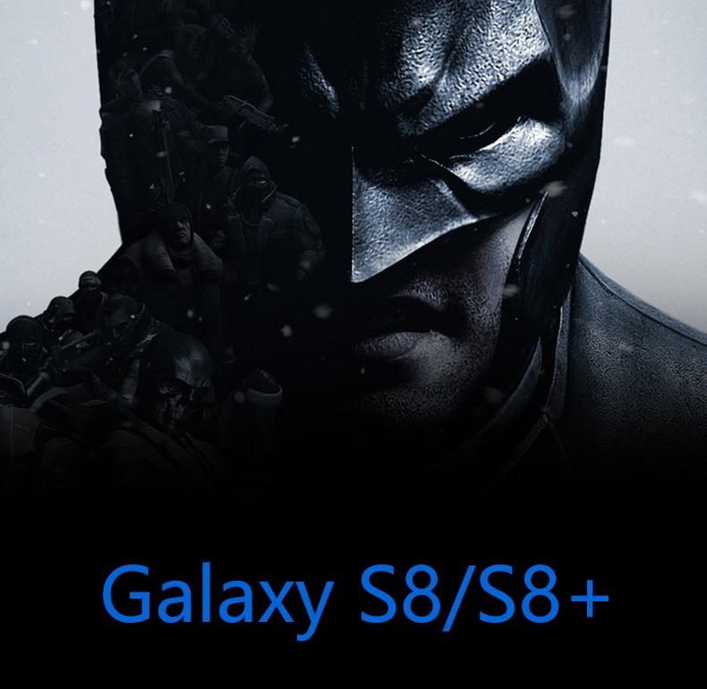 R-just Batman Metall Rahmen Schutz Outdoor Case Cover für Samsung ...