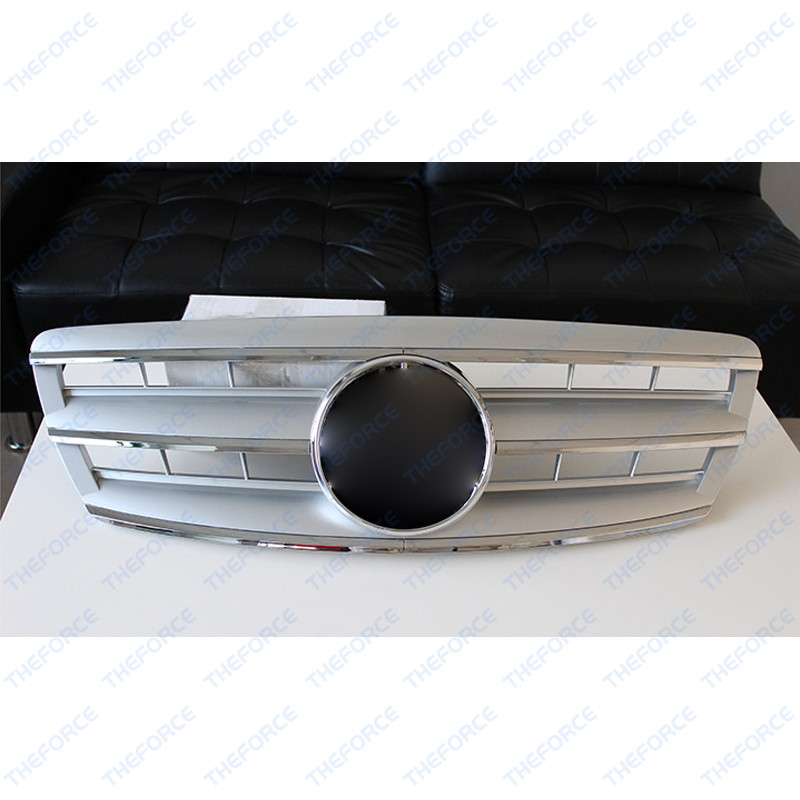 Front Grille Vent Fit For Mercedes Benz B B200 B Class: Silver Front Vent Grilles Fit For Mercedes-Benz S Class