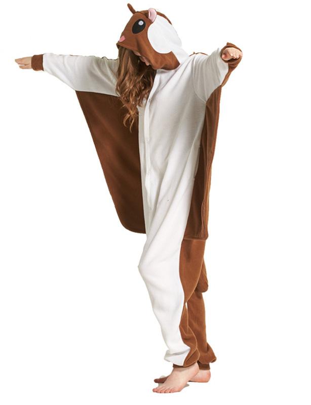 Adult-Flying-Squirrel-Kigurumi-Cosplay-Costume-Animal-Pajamas-  sc 1 st  eBay & Adult Flying Squirrel Kigurumi Cosplay Costume Animal Pajamas ...