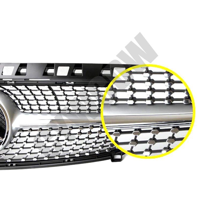 Front Grille Vent Fit For Mercedes Benz B B200 B Class: For 2013-15 Year Mercedes-Benz A Class W176 Front Bumper