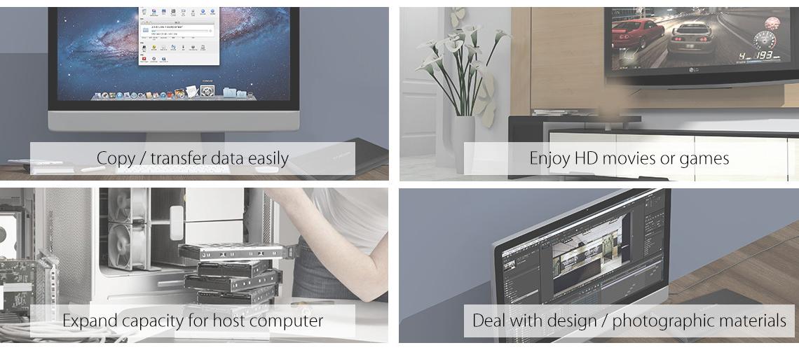 ORICO USB 3.1 Type-C Transparent 2.5 Inch SATA Hard Drive SSD HDD Enclosure Case 20
