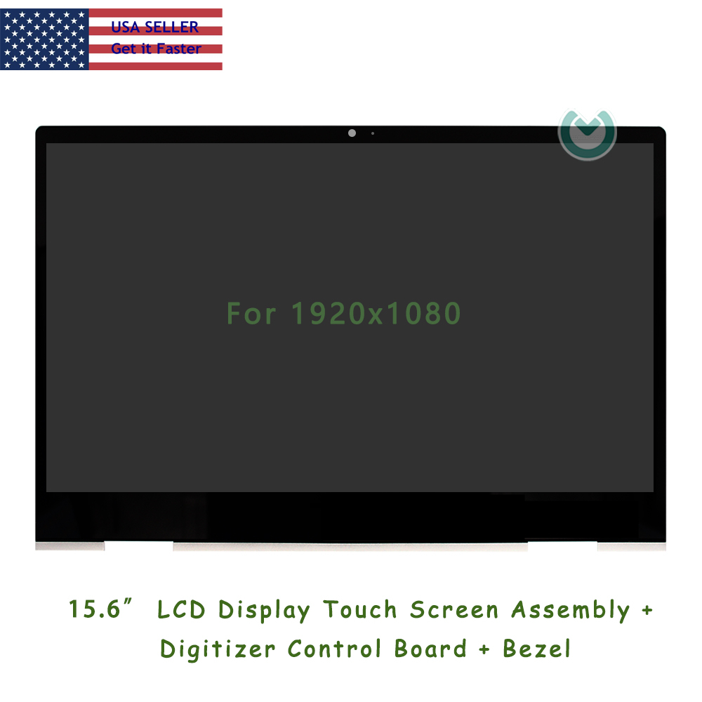 """New 15.6/"""" Touch Glass w// Digitizer For HP PAVILION X360 15-BR010NR Glass only"""
