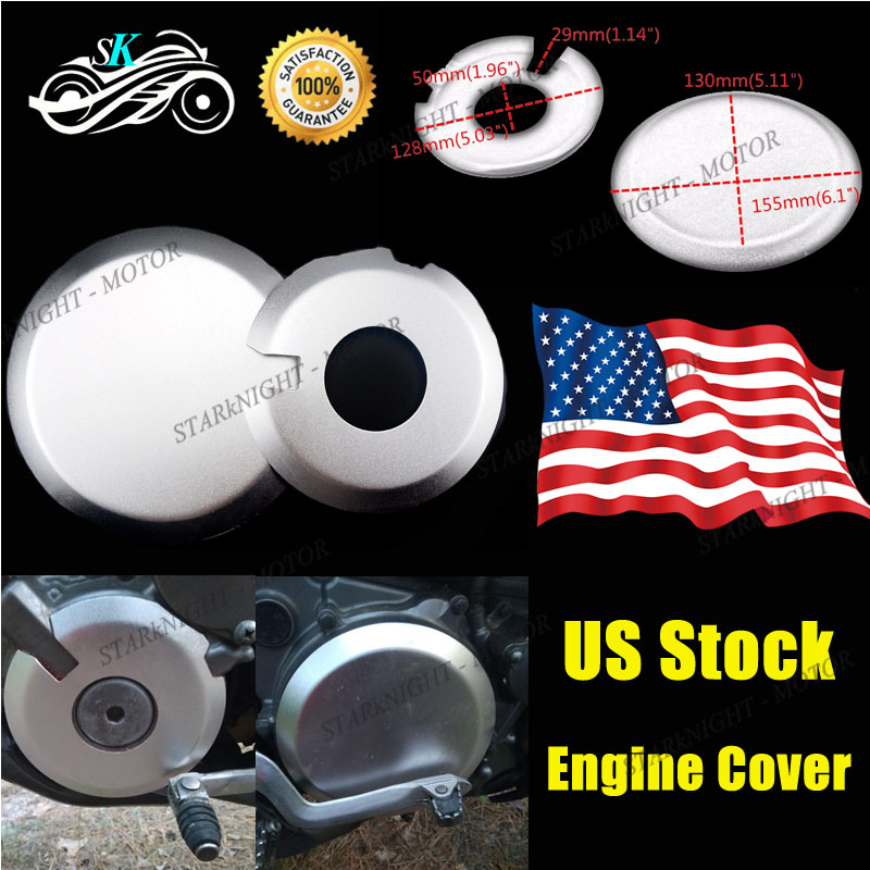 6 Colors CNC Engine Ignition Clutch Covers Guards Protect For Suzuki DRZ400E S M