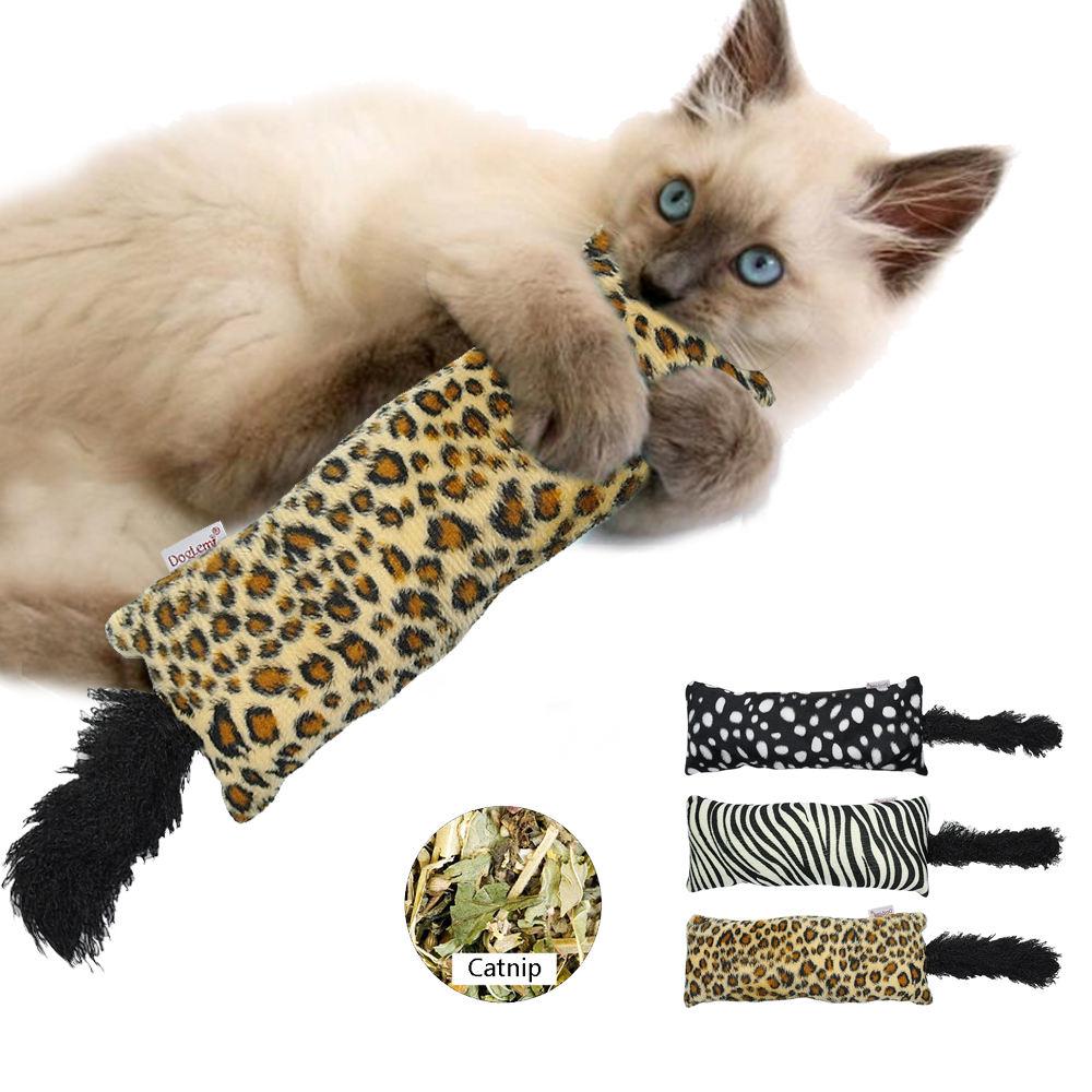 Interactive Cat Toys Stuffed Kitten Scratching Teething Toys with Catnip  Chewing eec866365be6