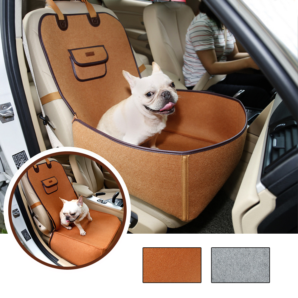 Dog Car Protector >> Details About Travel Pet Dog Car Seat Beds Hammock Cushion Protector Cover Booster Seat Basket