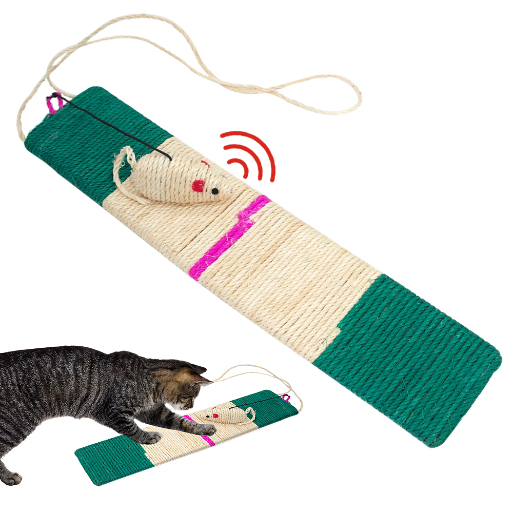 emery board cat scratching post sisal rope refill for large cats scratcher toys ebay. Black Bedroom Furniture Sets. Home Design Ideas