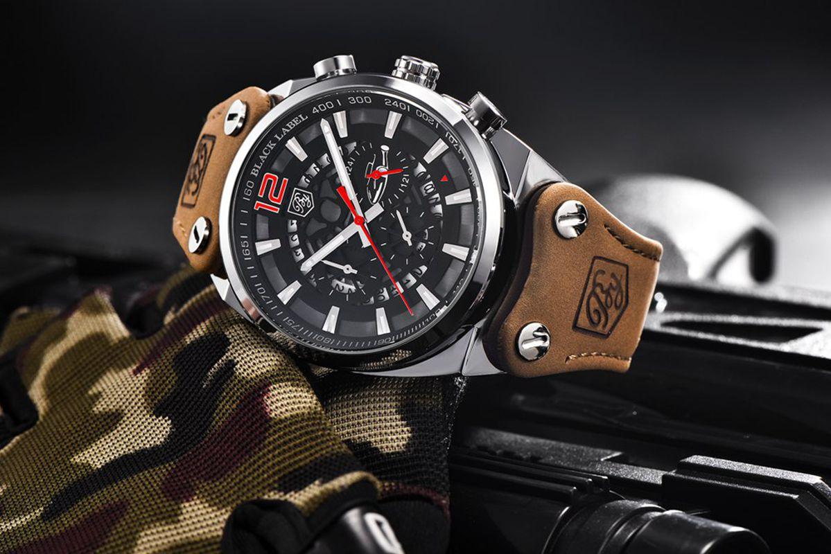 764053d7371 BENYAR Sport Men Watches Skeleton Military Chronograph Quartz Man Outdoor  Big Dial Watch Army Male Clock Relogio Masculino SAAT