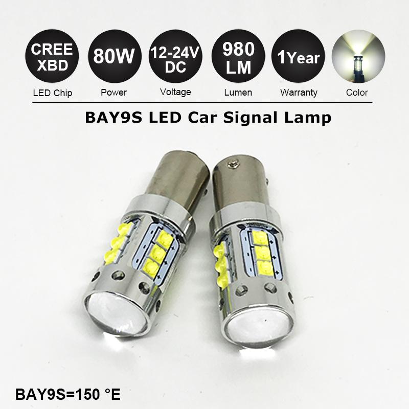 9W LED Canbus Error Free 501 Sidelight Parking Bulbs Xenon White For Nissan