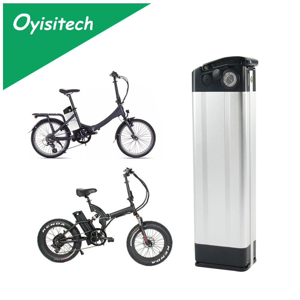 36V 15Ah 17.5Ah Electric Bicycle Battery Lithium Silver Fish for Max 500W Motor