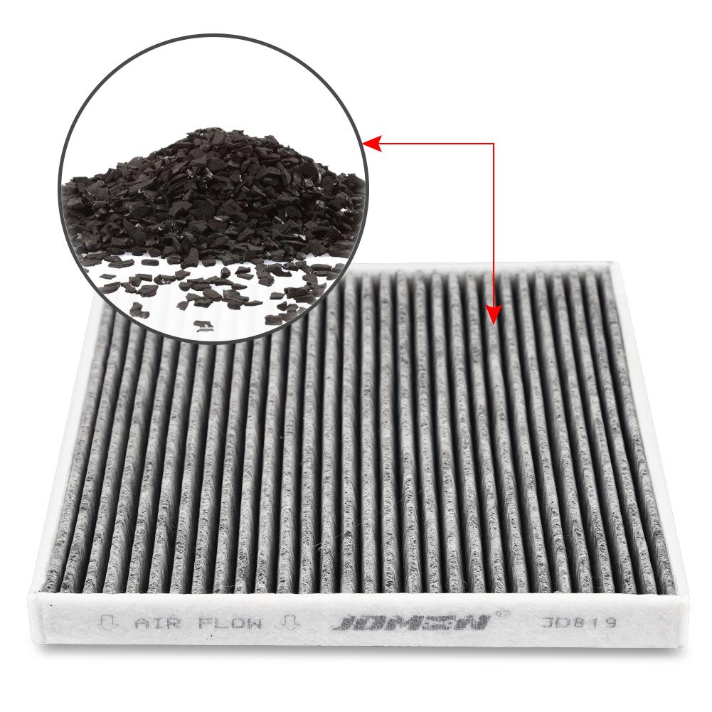 2pcs Cabin Air Filter Replace Cf11819 For Hyundai Gmc
