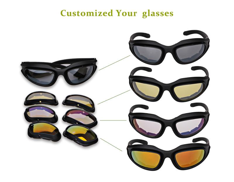 UV Shooting Desert Airsoft Sun Glasses Military With Polarized Windproof Eyewear