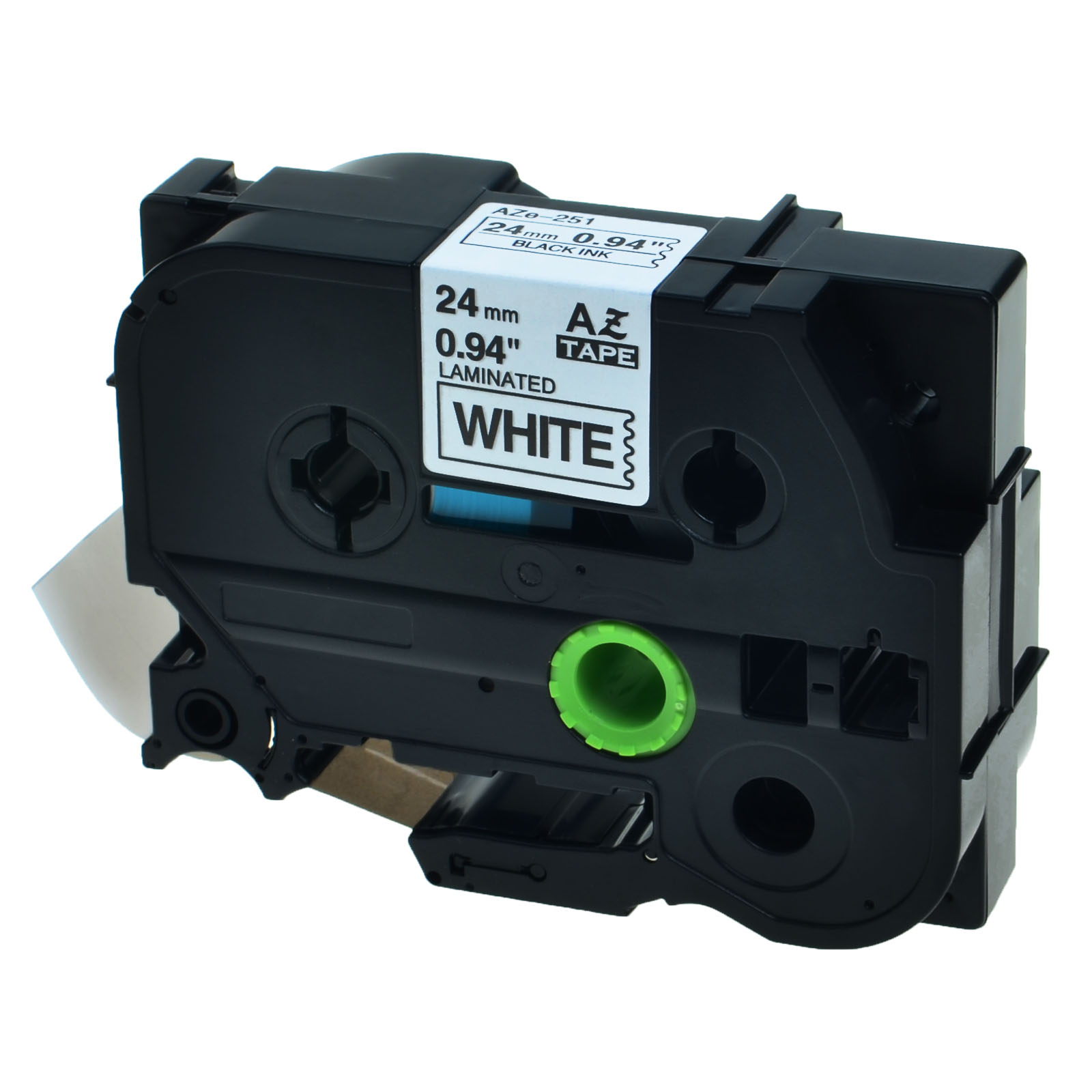 20PK TZ-251 TZe-251 Black on White Label Tape For Brother P-Touch PT-P750W 0.94/""