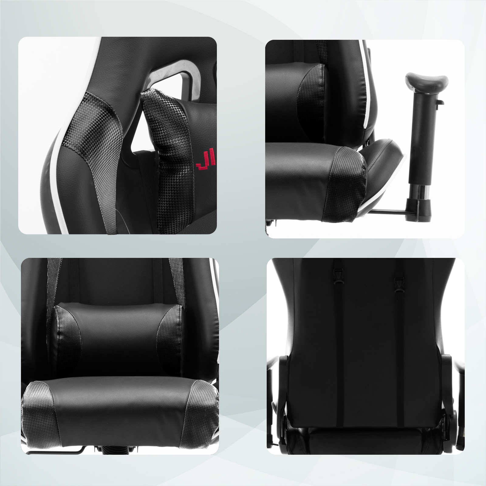 Crossover Swivel Gaming Office Chair Racing Sports Lift