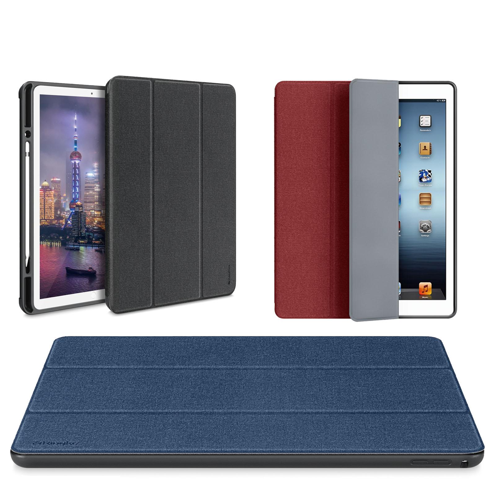 Pu Leather Folding Case Cover For New Ipad Pro 9 7 Inch 2017 Intl Mini 4 Luxury Kakusiga Carbon Fiber Smart Flip Atau With Pencil Holder Slim Apple 129