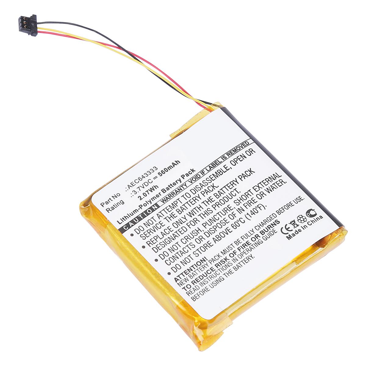 4a42aa8604c Battery for Beats Studio 2.0 , AEC643333 Wireless Headset 560mAh | eBay