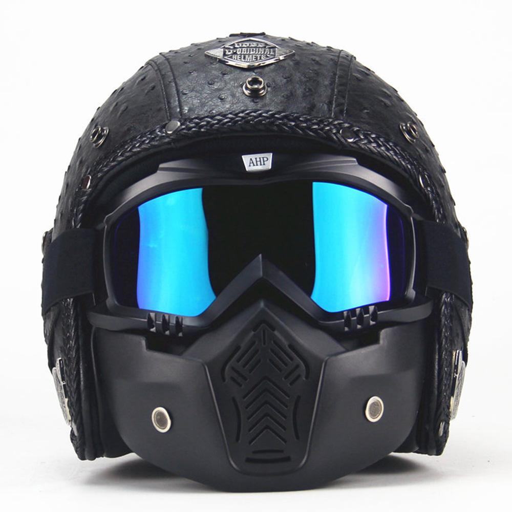 motorcycle helmet open face for harley davidson street. Black Bedroom Furniture Sets. Home Design Ideas