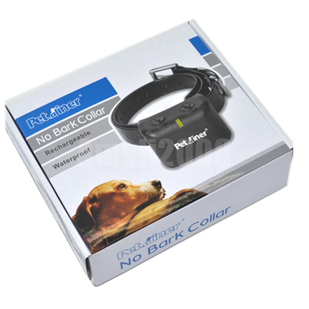 Petrainer Pet Anti Bark No Barking Dog Tone Shock Collar For Small Medium Dog