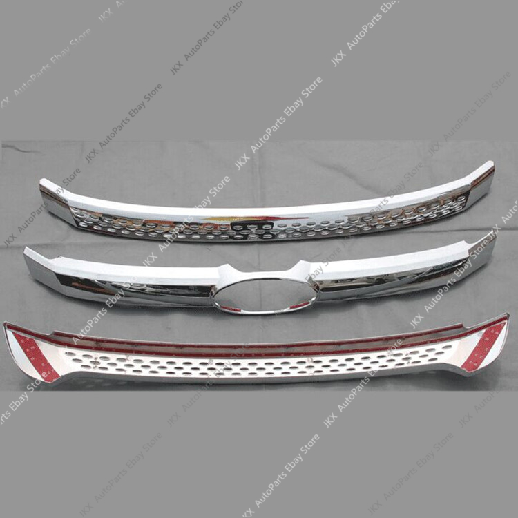 For Ford Explorer 2016-2017 Front Car Lower Grill Mesh Vent Hole Grille Bodykit