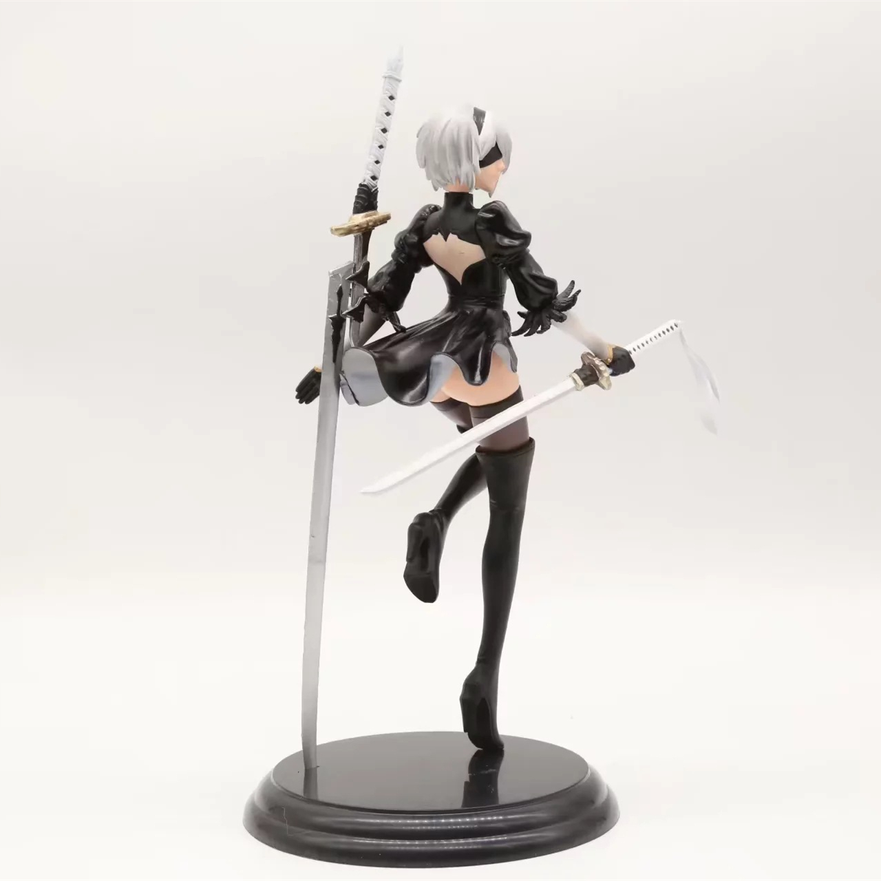 PS4 NieR:Automata 2B 25cm Deluxe Ver Action Figure Figurine Statue Model BOXED