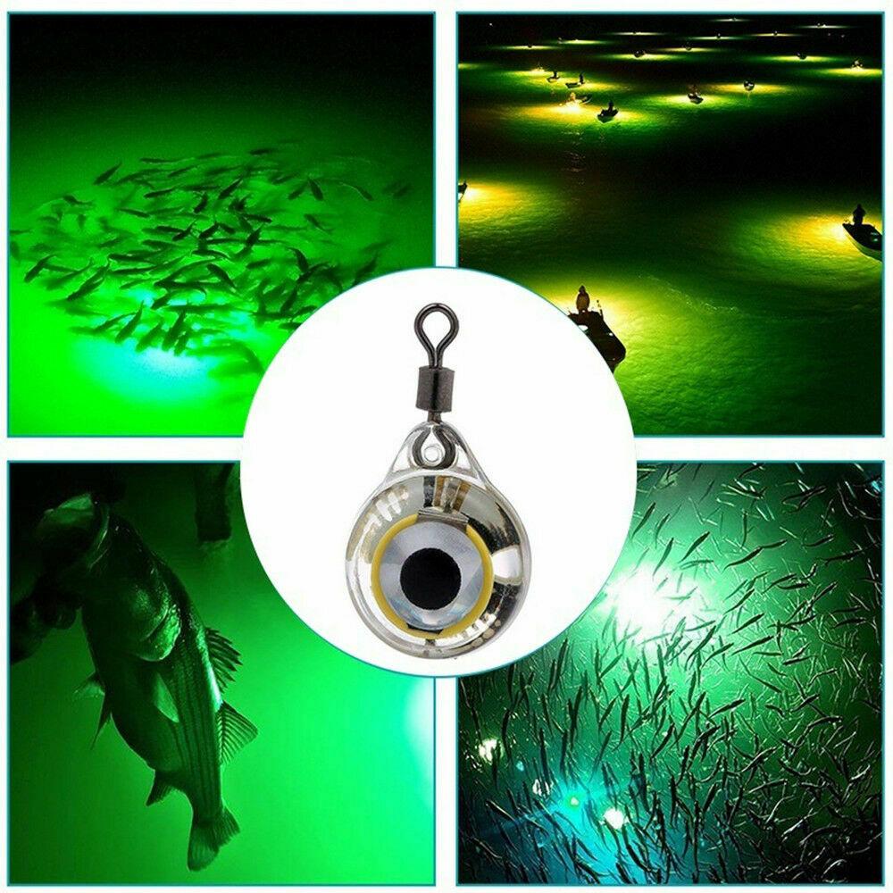 Mini LED Fishing Lights Night Fluorescent Glow Underwater Fishing Lure Lights