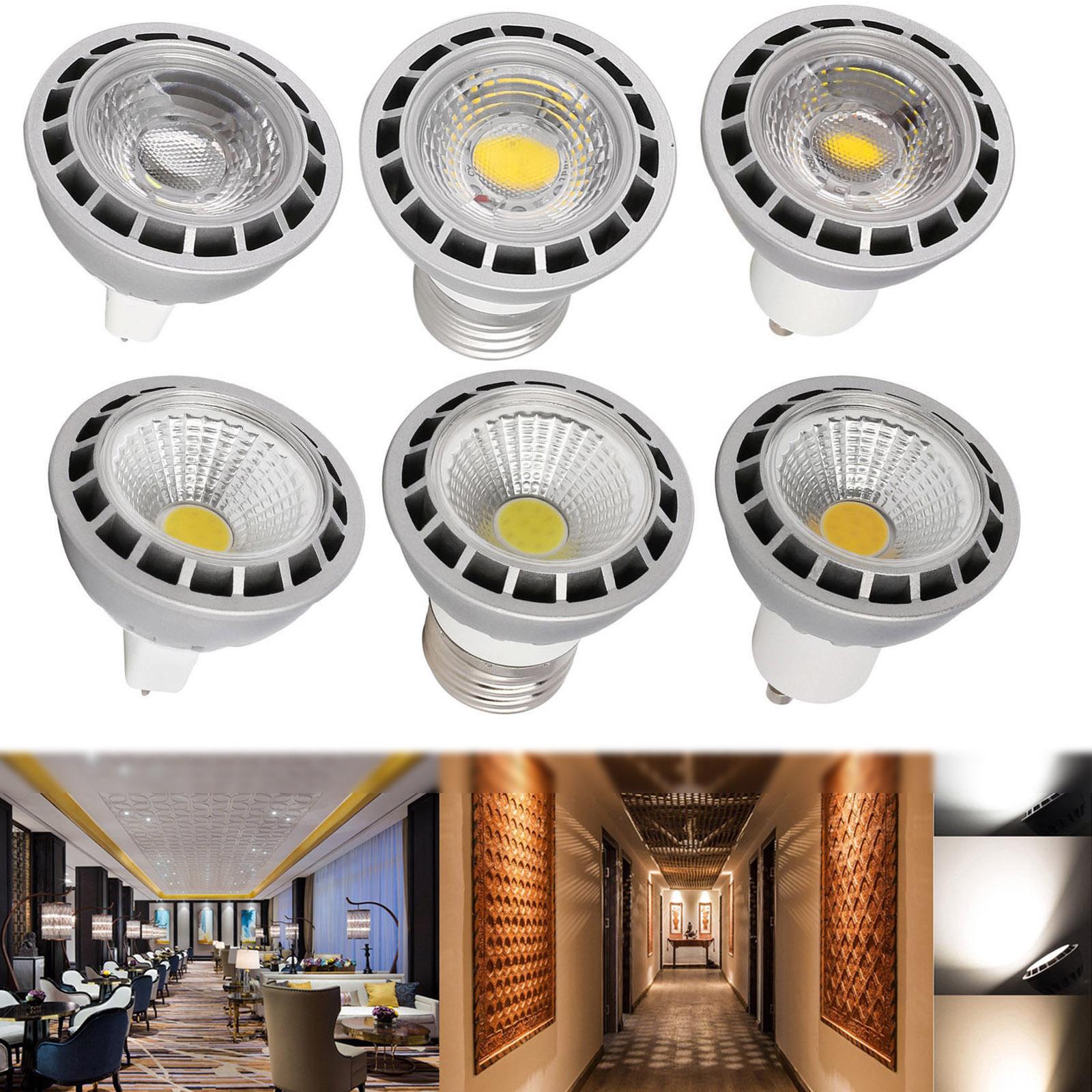 Dimmable Cob Led Spot Light Bulbs 15 Watt Gu10 Mr16 E26