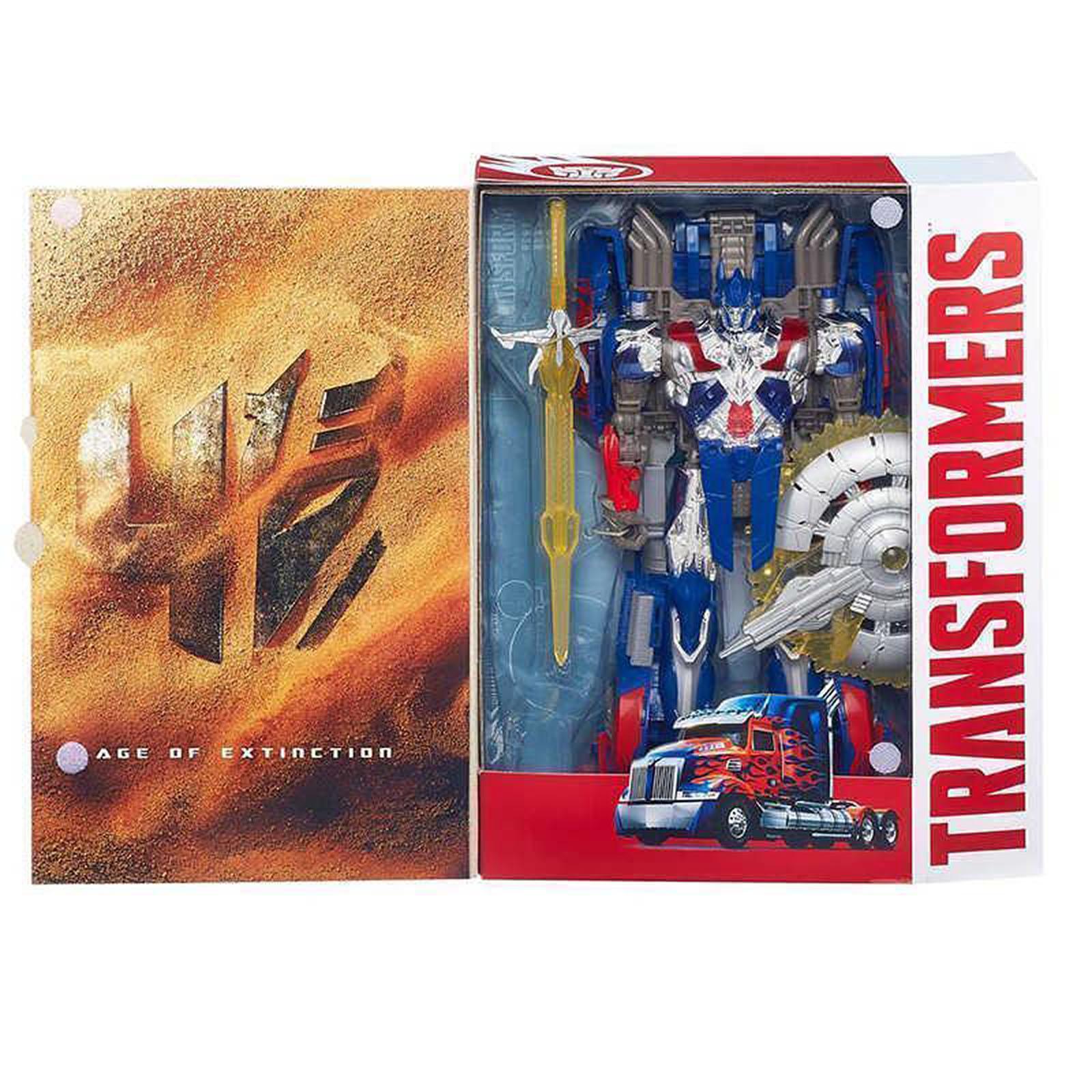 Transformers Takara Jp Ex Age of Extinction #AD02 Voyager Optimus Prime New