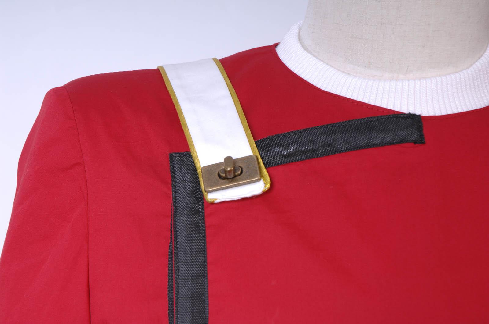 DHL Star Trek II-VI Wrath of Khan starfleet Costume Uniform Full Set S-XXL Hot