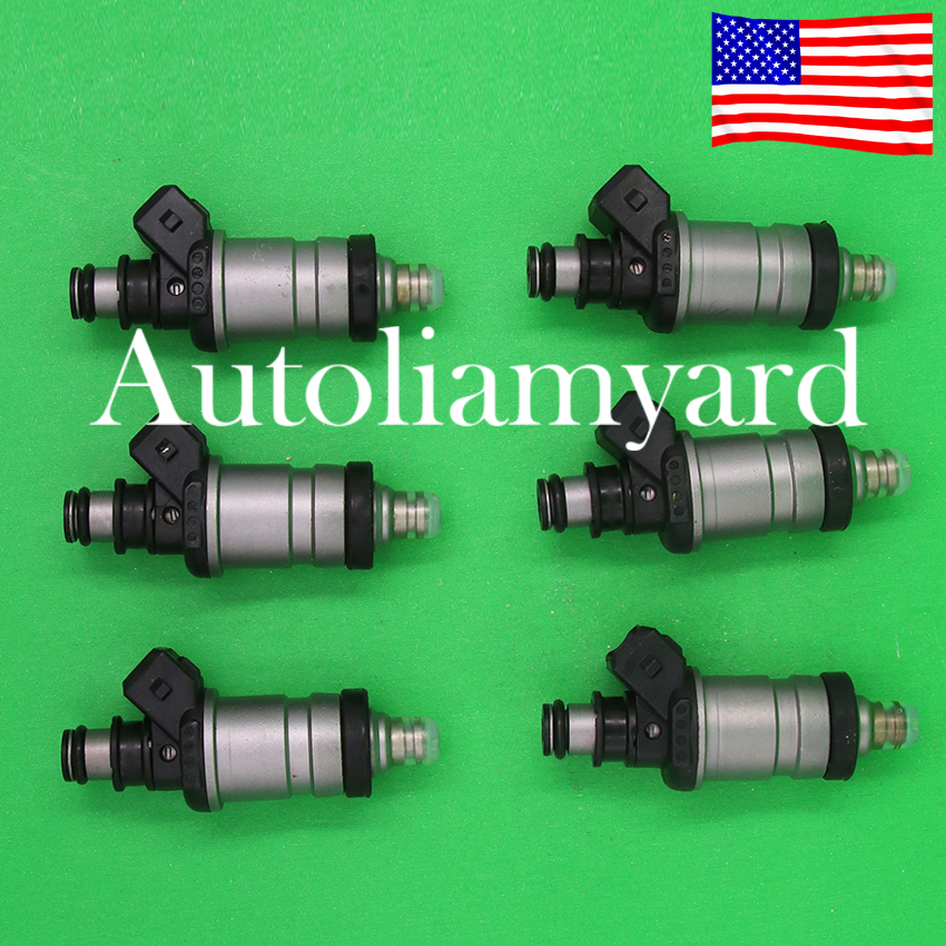 6x OEM 06164PL2L00 Fuel Injectors For Acura, Honda V6