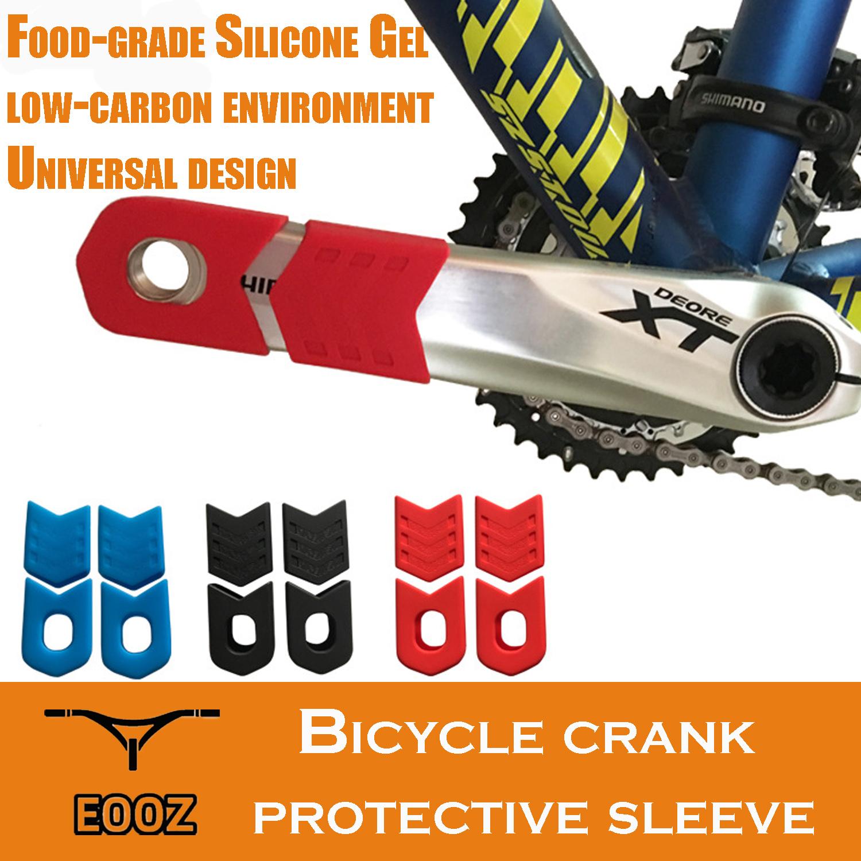 Bicycle  Crank Protector Protective Sheath Crankset Arm Boots Gel Sleeve