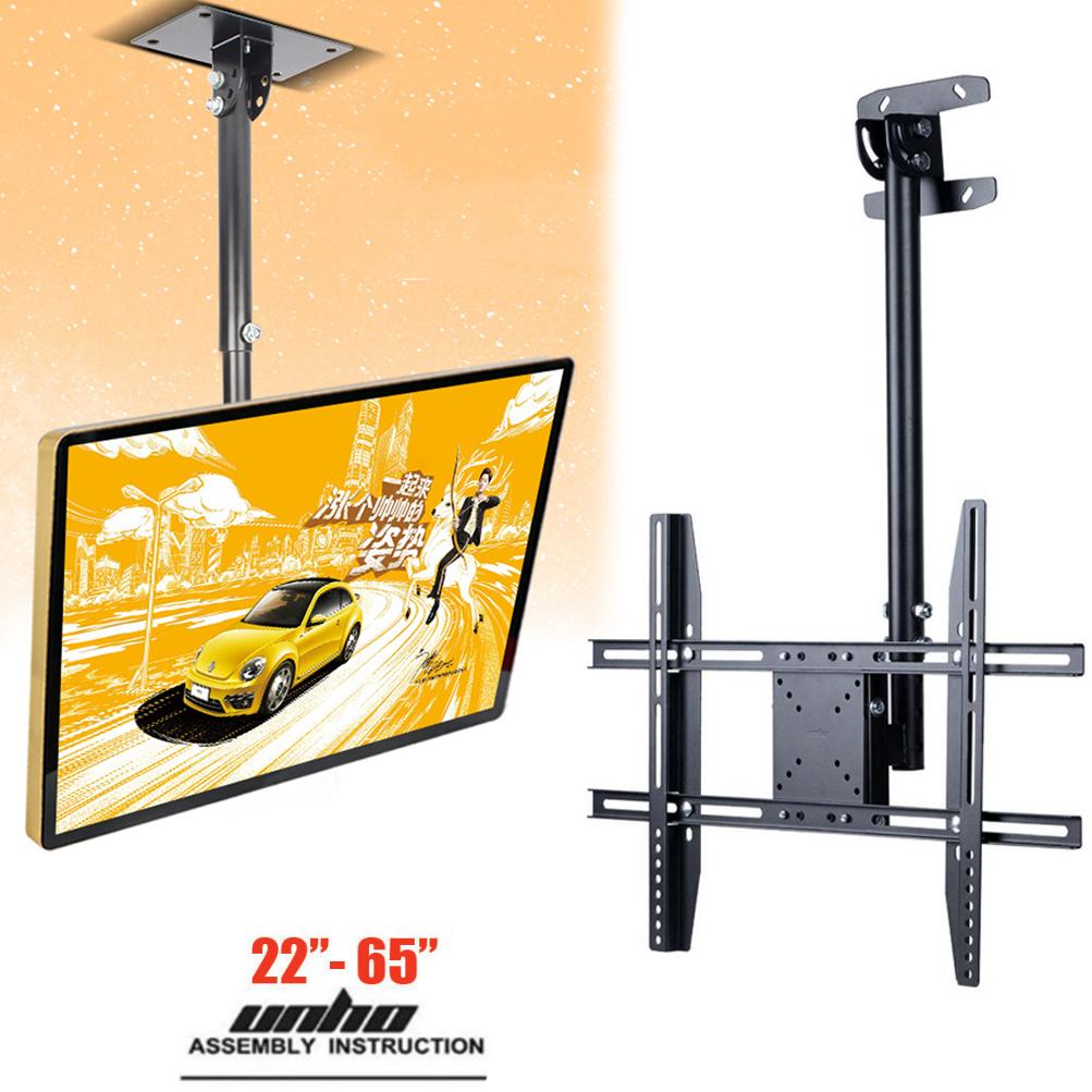 Telescoping Tilt Swivel Ceiling Hanging TV Wall Mount Bracket for 32 ...