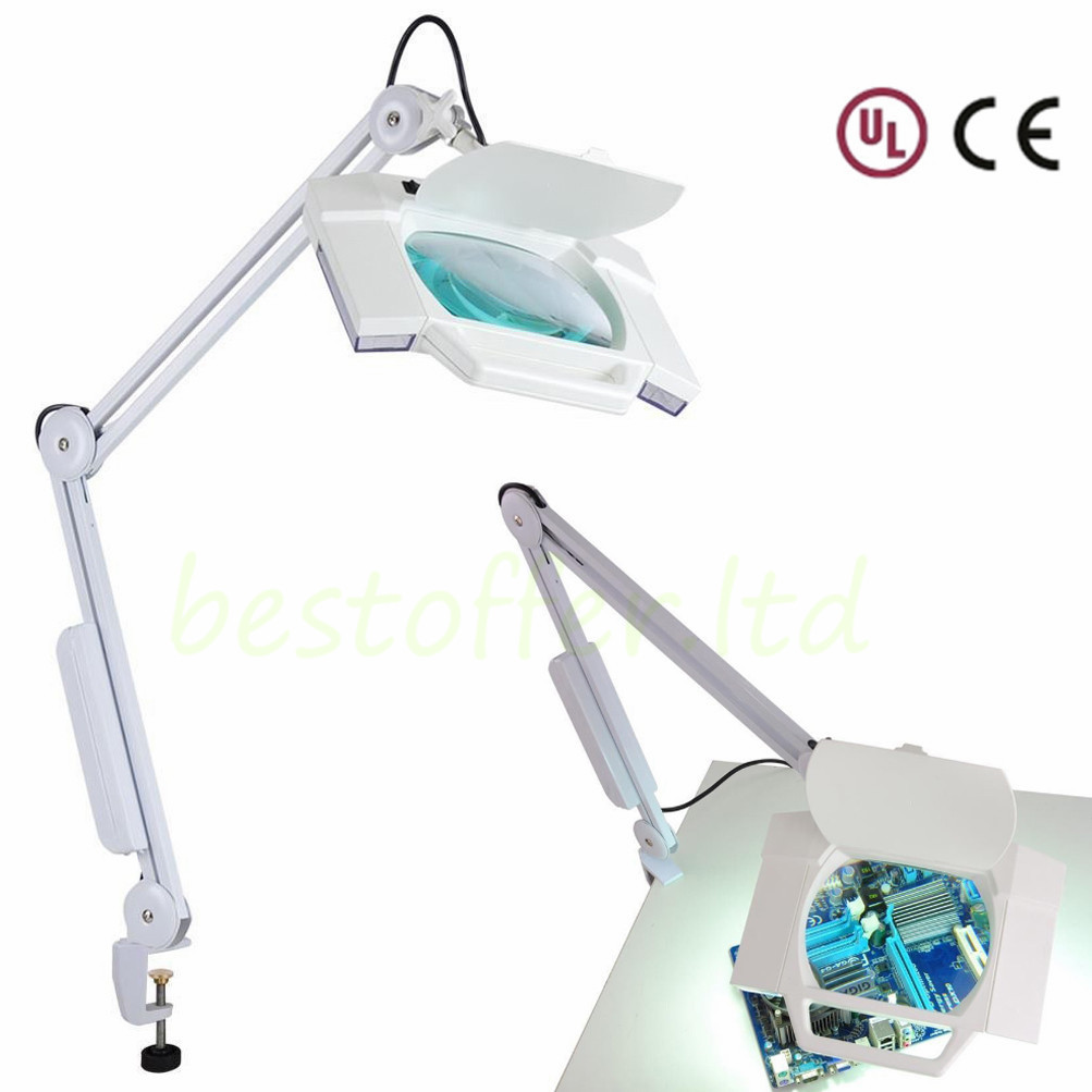 Lamp Diopter Magnifier Table Amp Magnifying Floor Lamp Desk