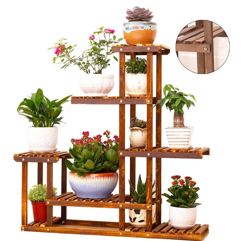 422 Auto Sales >> Wooden Plant Stand Flower Pot Display Planter Home Decor Rack Storage Shelf Vase 8438669590051 ...