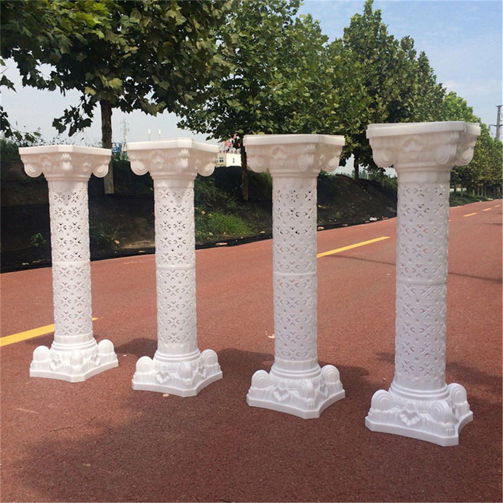 column pillars props pedestal photography roman pin decor supply plastic wedding